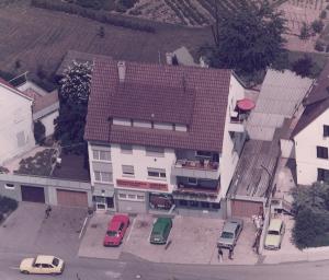 1980 | Das Firmengebäude in der Uhlandstr. 3 in Fellbach Schmiden.